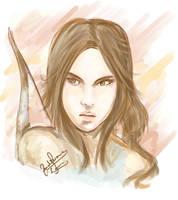 Lara Croft by pharoah0000