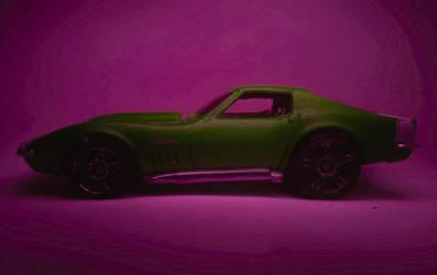 Green Corvette by vroomvro0om