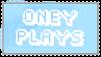 oneyplays stamp #2 by noegrusocat
