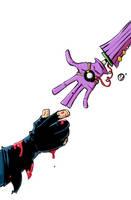 Need a hand, Batsy? by Nekr0ns