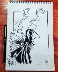 Spawn - sketch by Nekr0ns