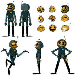 Gresker Anden - Character design by Nekr0ns
