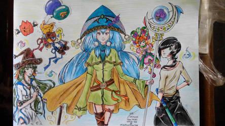 Mahoutsukai (Magician) by MizuhiraYumiko