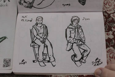 Illustration - classmate by firedragis