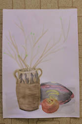 Still life - water colors by firedragis