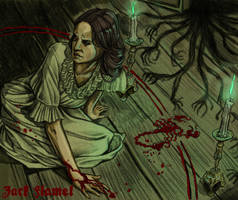 Vanessa and the Shadows by aquiles-soir