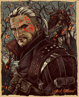 THE WITCHER by aquiles-soir