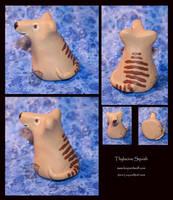 Thylacine Squish by leopardwolf