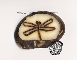 Dragonfly Tagua by leopardwolf