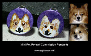 Mimi And Milo Pet Pendants For Jessica by leopardwolf