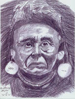 Chief Joseph of the Nez Perce by leopardwolf