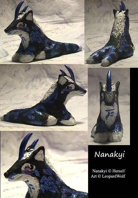 Nanakyi Night-Singer by leopardwolf