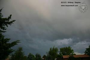 Stormy Colorado Sky by leopardwolf