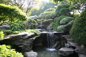 Japanese Garden 4 by leopardwolf