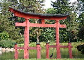 Torii Gate 1 by leopardwolf