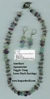 Amethaqua Jewelry Set by leopardwolf
