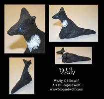 Wolfy Sculpt - For Arikla by leopardwolf