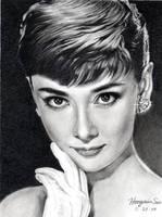 Audrey hepburn by Hongmin