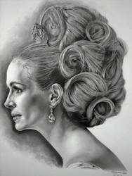 Julia Roberts by Hongmin