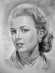 Grace Kelly by Hongmin