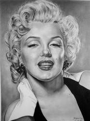 Marilyn Monroe by Hongmin