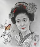 Geisha- Takahiro by Hongmin