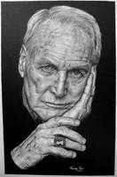 Paul Newman by Hongmin