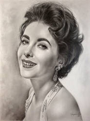 Elizabeth Taylor-Golden Era 3 by Hongmin