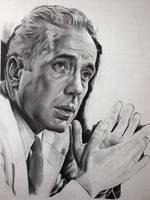 Humphrey Bogart- WIP2 by Hongmin
