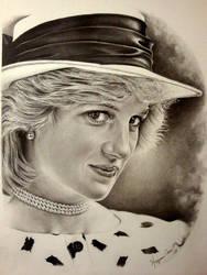 Princess Diana by Hongmin