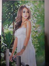 Danielle Lo The model portrait by Hongmin