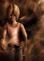 The Angel of Death by Calyfern