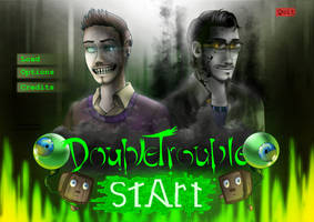 DoubleTrouble Fanart - It's more than a game... by AnormalADN