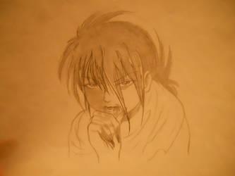 Vampire Kurama original by littlefoxling101