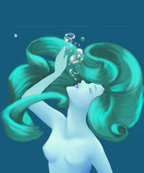 Element: Water WIP by littlefoxling101