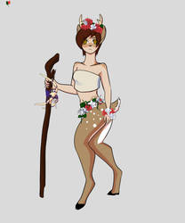 Faun by littlefoxling101