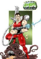 Garth from AlienStorm by violencejack666