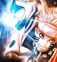 Naruto Bijuu Rasengan 598 by TheALM