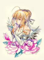 Saber by Princess--Ailish