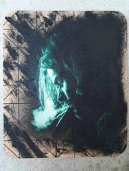 Kurt cobain by LochStencils