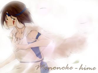 Mononoke Hime by Ariyu-like