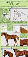 Digital Horse PaintingTutorial by YamiKatt