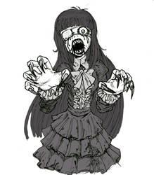 goth witch by takena-n
