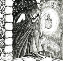 The Night Mage by SlayerSyrena