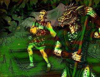 The Argonian Account by SlayerSyrena