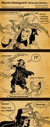 Skyrim Dawnguard Seriously Serana by SlayerSyrena