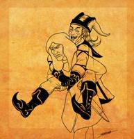 Giddyup Lucien! by SlayerSyrena