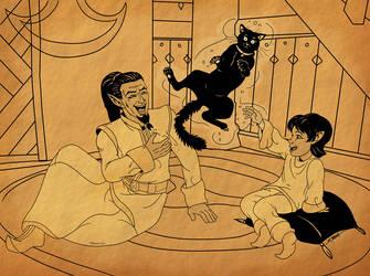 Look Daddy! by SlayerSyrena