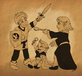 Sibling War by SlayerSyrena