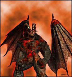 Big Demon by samuriaheaven
